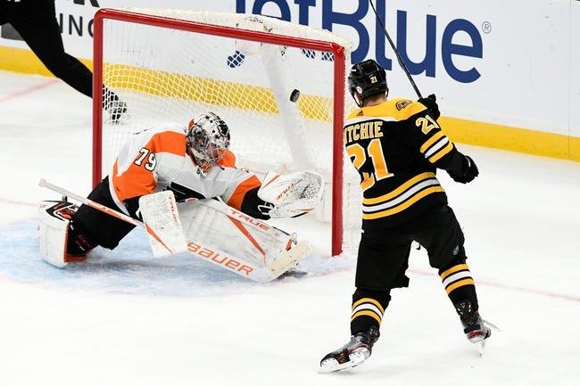 Philadelphia Flyers at Boston Bruins - 1/23/21 NHL Picks and Prediction