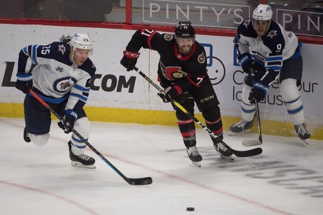 Winnipeg Jets vs Ottawa Senators NHL Picks, Odds, Predictions 1/23/21