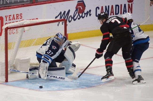 Ottawa Senators at Winnipeg Jets - 1/23/21 NHL Picks and Prediction