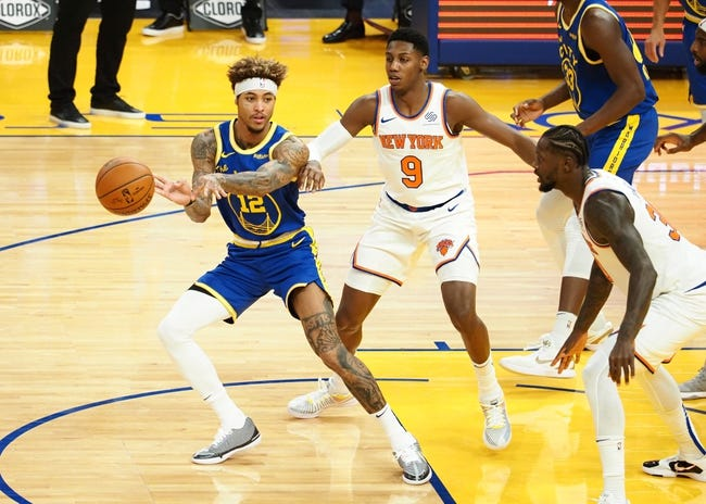 New York Knicks vs Golden State Warriors NBA Picks, Odds, Predictions 2/23/21