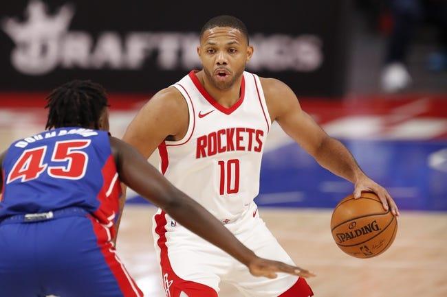 Washington Wizards at Houston Rockets - 1/26/21 NBA Picks and Prediction