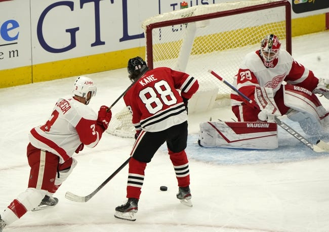 Detroit Red Wings at Chicago Blackhawks - 1/24/21 NHL Picks and Prediction