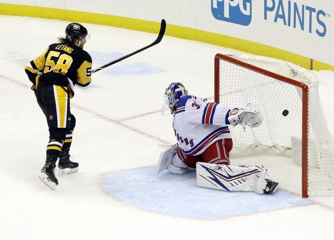 Pittsburgh Penguins vs New York Rangers NHL Picks, Odds, Predictions 1/24/21