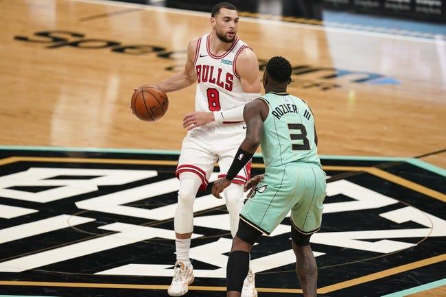 Charlotte Hornets at Chicago Bulls - 4/22/21 NBA Picks and Prediction