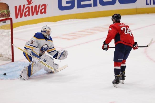 Buffalo Sabres at Washington Capitals - 1/24/21 NHL Picks and Prediction