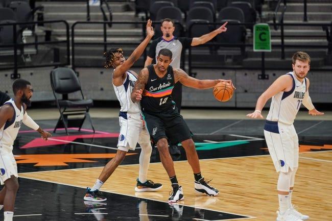 San Antonio Spurs at Dallas Mavericks - 3/10/21 NBA Picks and Prediction