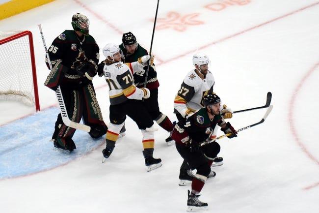 Arizona Coyotes vs Vegas Golden Knights NHL Picks, Odds, Predictions 1/24/21
