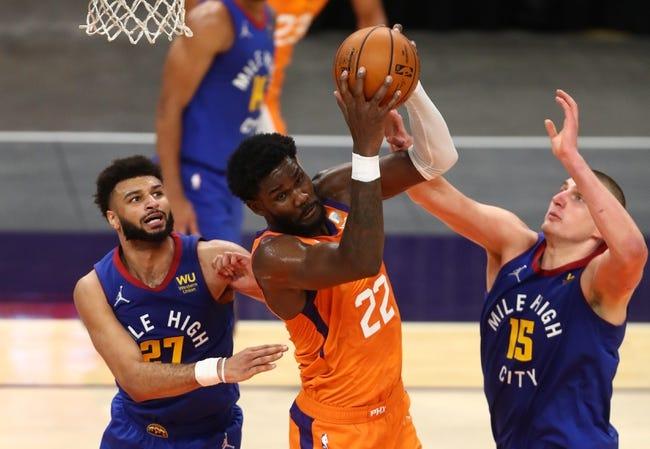 Denver Nuggets at Phoenix Suns - 1/23/21 NBA Picks and Prediction
