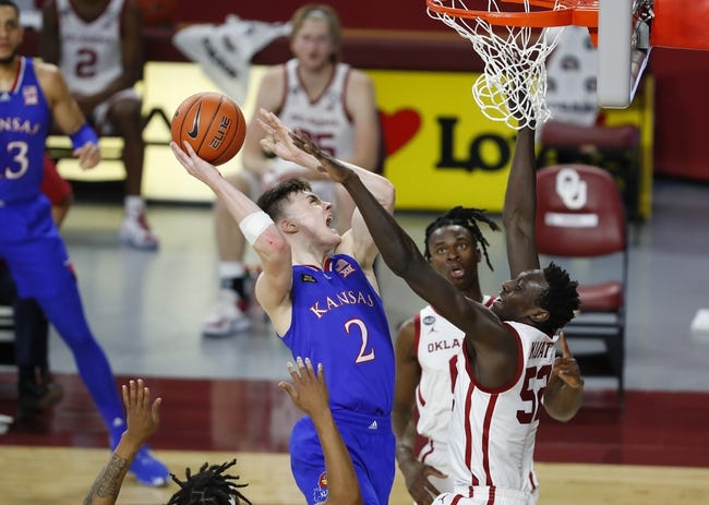Oklahoma at Kansas: 3/11/21 College Basketball Picks and Prediction