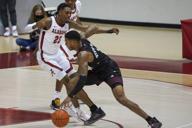 Alabama at Mississippi State: 2/27/21 College Basketball Picks and Predictions