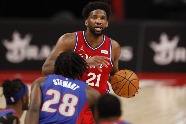 Los Angeles Lakers at Philadelphia 76ers - 1/27/21 NBA Picks and Prediction