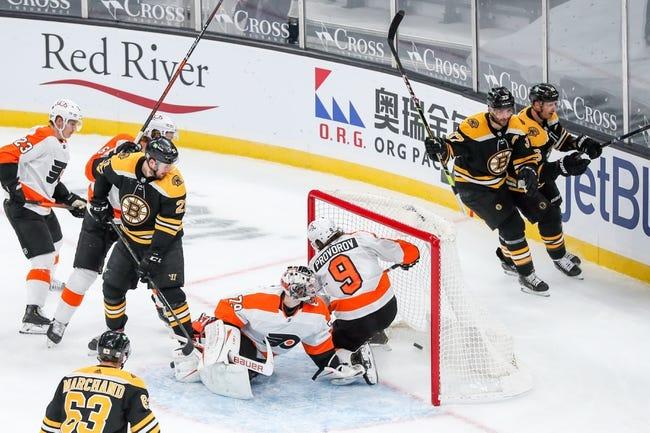 Philadelphia Flyers vs Boston Bruins NHL Picks, Odds, Predictions 2/3/21