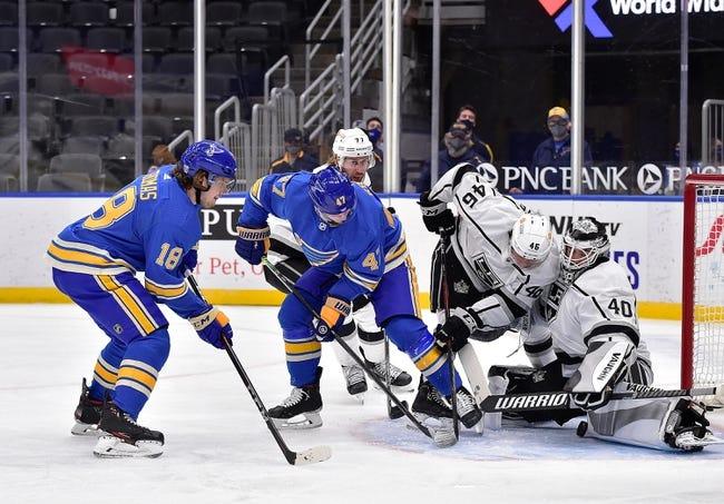 Los Angeles Kings at St. Louis Blues - 1/24/21 NHL Picks and Prediction