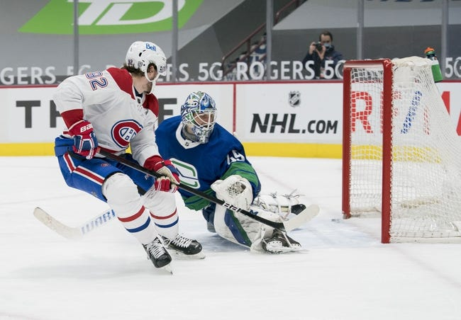 Montreal Canadiens vs Vancouver Canucks NHL Picks, Odds, Predictions 2/1/21