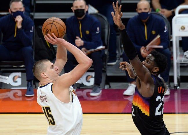 Denver Nuggets at Phoenix Suns - 6/7/21 NBA Picks and Prediction