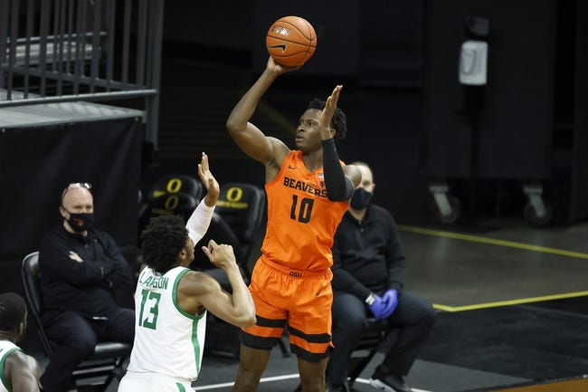 Oregon at Oregon State: 3/7/21 College Basketball Picks and Prediction