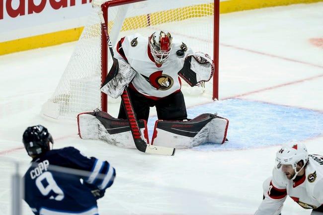 Winnipeg Jets vs Ottawa Senators NHL Picks, Odds, Predictions 2/11/21