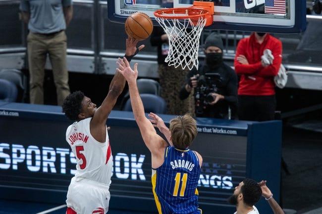 Indiana Pacers vs Toronto Raptors NBA Picks, Odds, Predictions 1/25/21