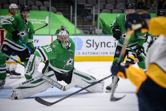 Dallas Stars vs Nashville Predators NHL Picks, Odds, Predictions 2/15/21