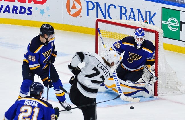 St. Louis Blues vs Los Angeles Kings NHL Picks, Odds, Predictions 2/22/21