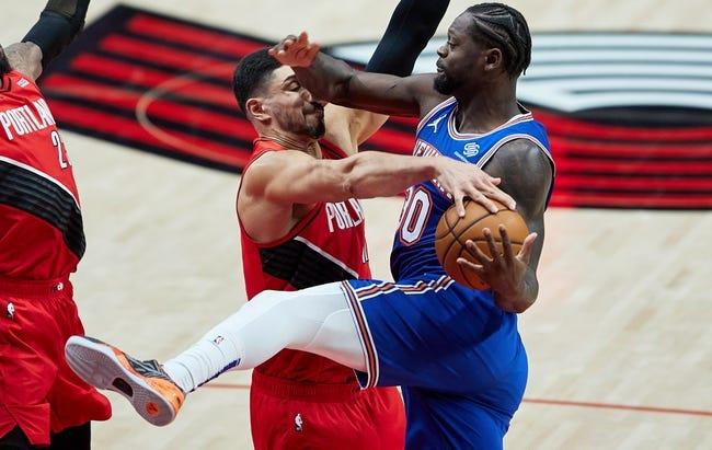 New York Knicks vs Portland Trail Blazers NBA Picks, Odds, Predictions 2/6/21
