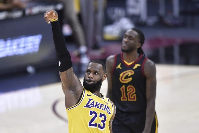 Cleveland Cavaliers at Los Angeles Lakers - 3/26/21 NBA Picks and Prediction