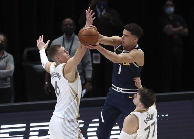Dallas Mavericks at Denver Nuggets - 3/13/21 NBA Picks and Prediction