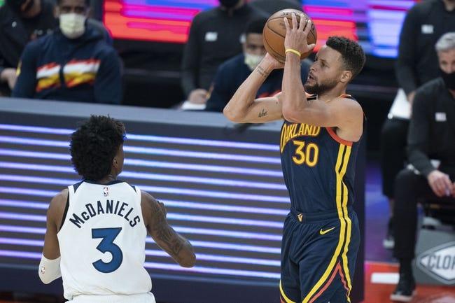 Golden State Warriors vs Minnesota Timberwolves NBA Picks, Odds, Predictions 1/27/21