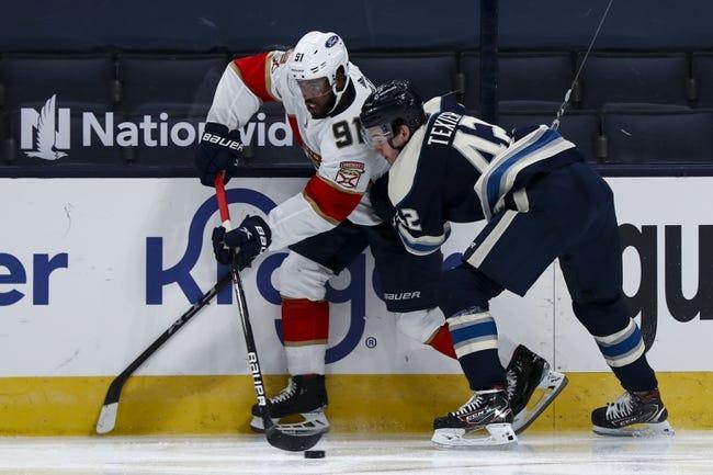 Columbus Blue Jackets vs Florida Panthers NHL Picks, Odds, Predictions 1/28/21