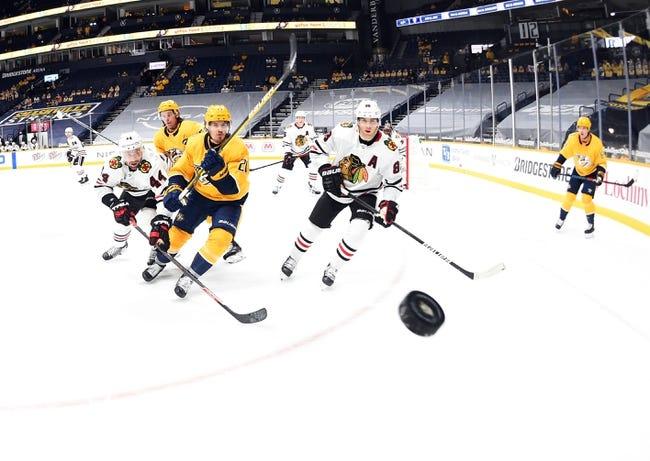 Nashville Predators vs Chicago Blackhawks NHL Picks, Odds, Predictions 1/27/21