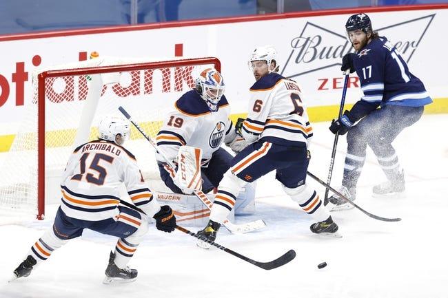 Edmonton Oilers vs Winnipeg Jets NHL Picks, Odds, Predictions 2/15/21