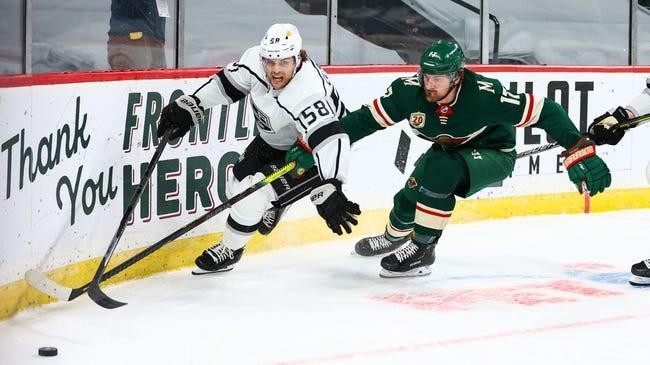 Minnesota Wild vs Los Angeles Kings NHL Picks, Odds, Predictions 1/28/21
