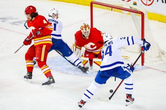 Toronto Maple Leafs vs Calgary Flames NHL Picks, Odds, Predictions 2/22/21