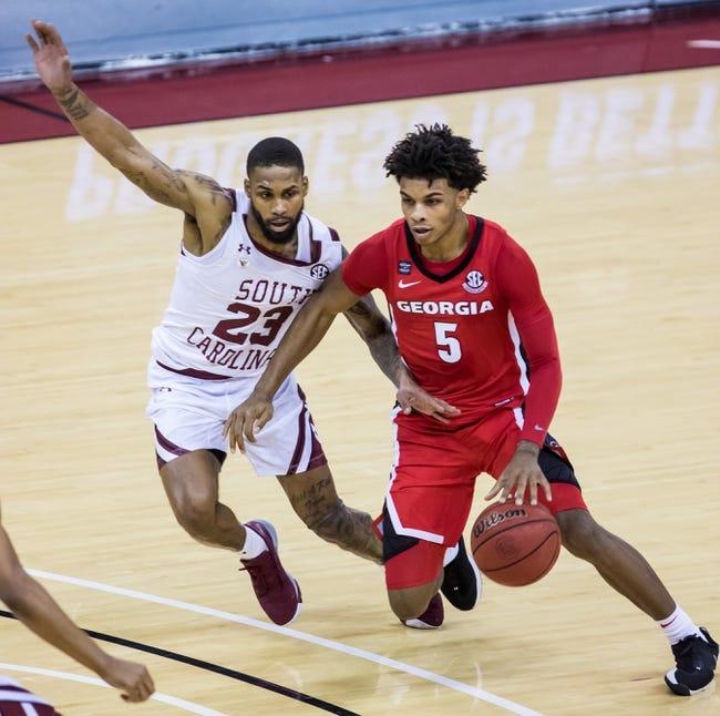 South Carolina at Georgia: 2/27/21 College Basketball Picks and Predictions