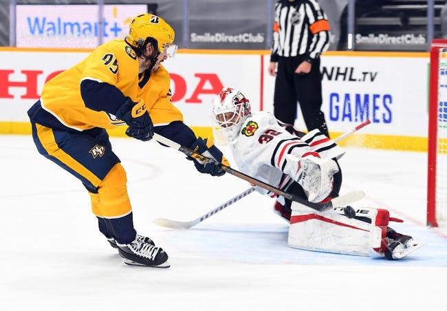 Chicago Blackhawks vs Nashville Predators NHL Picks, Odds, Predictions 3/27/21
