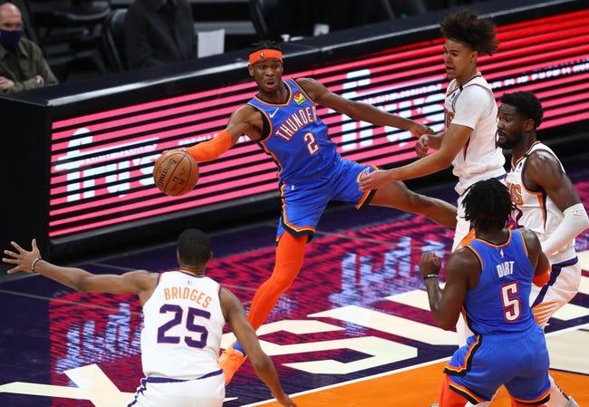 Phoenix Suns vs Oklahoma City Thunder NBA Picks, Odds, Predictions 4/2/21
