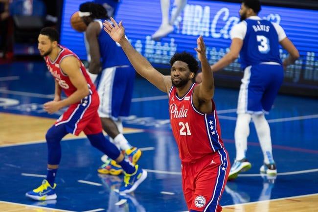 Philadelphia 76ers at Los Angeles Lakers - 3/25/21 NBA Picks and Prediction