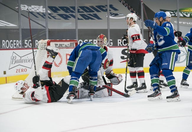 Vancouver Canucks vs Ottawa Senators NHL Picks, Odds, Predictions 1/28/21