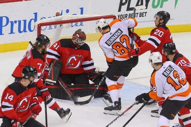 Philadelphia Flyers vs New Jersey Devils NHL Picks, Odds, Predictions 3/23/21