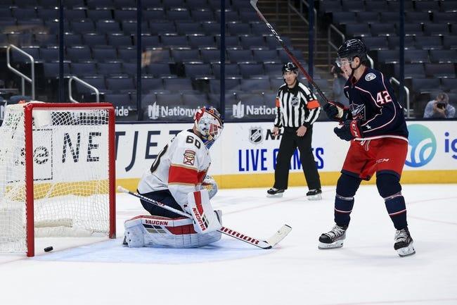 Columbus Blue Jackets vs Florida Panthers NHL Picks, Odds, Predictions 3/9/21