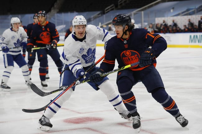 Edmonton Oilers vs Toronto Maple Leafs NHL Picks, Odds, Predictions 1/30/21