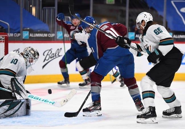 San Jose Sharks vs Colorado Avalanche NHL Picks, Odds, Predictions 3/1/21