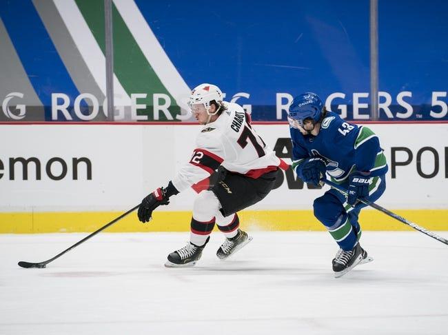 Ottawa Senators vs Vancouver Canucks NHL Picks, Odds, Predictions 3/15/21