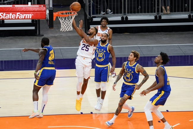 Golden State Warriors at Phoenix Suns - 3/4/21 NBA Picks and Prediction