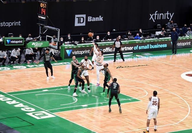 Boston Celtics at Cleveland Cavaliers - 3/17/21 NBA Picks and Prediction