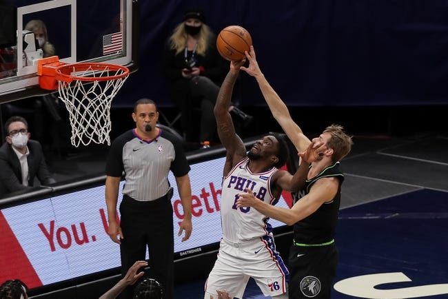 Philadelphia 76ers vs Minnesota Timberwolves NBA Picks, Odds, Predictions 4/3/21