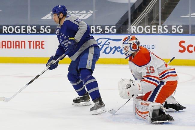 Edmonton Oilers vs Toronto Maple Leafs NHL Picks, Odds, Predictions 2/27/21