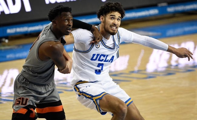 Oregon State at UCLA: 3/11/21 College Basketball Picks and Predictions