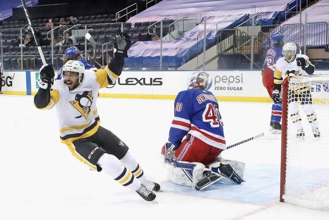 New York Rangers vs Pittsburgh Penguins NHL Picks, Odds, Predictions 2/1/21