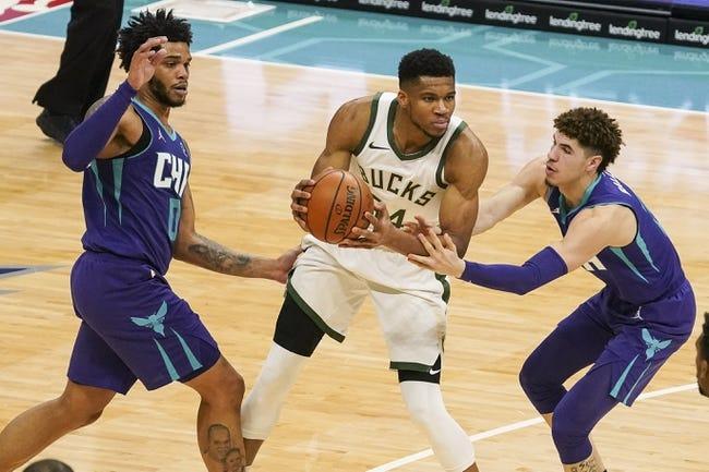 Charlotte Hornets at Milwaukee Bucks - 4/9/21 NBA Picks and Prediction